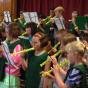 Bambini a scuola di musica