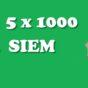 SIEM 5 x 1000